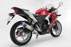 BEAMS (ビームス) バイク用 マフラー CBR250R ~2013 JBK-MC41 R-EVO スリップオン (ヒートチタンサイレンサー) 公道走行不可 D143-53-P1S