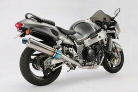 BEAMS (ビームス) バイク用 マフラー GSX1300R '99~'07 R-EVO フルエキ フルエキゾースト マフラー ヒートチタン 車検対応 D302-53-T1S