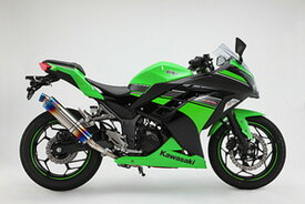BEAMS (ビームス) バイク用 マフラー Ninja250 '13~'17 R-EVO スリップオン ヒートチタンサイレンサー RACING D415-53-P1S