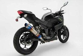 BEAMS (ビームス) バイク用 マフラー Z250 R-EVO スリップオン (ヒートチタンサイレンサー) D416-53-P1S