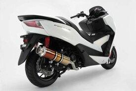 BEAMS (ビームス) バイク用 マフラー フォルツァ / JBK - MF12 フルエキ フルエキゾースト SS 400 チタンSP 政府認証 22年騒音規制対応 G156-18-000