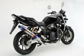 BEAMS (ビームス) バイク用 マフラー CB1300SF '14~'17 EBL-SC54 R‐EVO スリップオン ヒートチタンサイレンサー セイフニンショウ 22年騒音規制対応 G173-53-P1J