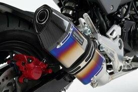 BEAMS (ビームス) バイク用 マフラー グロム2016 EBJ - JC61 / 2BJ - JC75 フルエキ フルエキゾースト CORSA-EVOヒートチタン 政府認証 22年騒音規制対応 G175-65-001