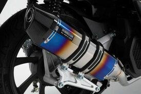 BEAMS (ビームス) バイク用 マフラー PCX125 2018~ フルエキ フルエキゾースト CORSA-EVOヒートチタンサイレンサー 政府認証 22年騒音規制対応 G179-65-001
