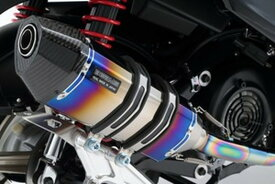 BEAMS (ビームス) バイク用 マフラー シグナス X Fi EBJ - SE44J フルエキ フルエキゾースト CORSA-EVOヒートチタン 政府認証 22年騒音規制対応 G220-65-001