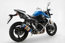 BEAMS (ビームス) バイク用 マフラー GSR750 ABS R-EVO スリップオン シェイプスクエア ヒートチタン 22年騒音規制対応 G325-53-P1J