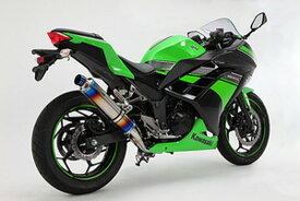 BEAMS (ビームス) バイク用 マフラー Ninja250 '13~'17 R-EVO フルエキ フルエキゾースト マフラー ヒートチタンサイレンサー 政府認証 22年騒音規制対応 G415-53-S1J