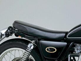 DAYTONA (デイトナ) バイク用 カスタムシート COZYシート ショートロープレーンType SR400/500用 ブラック 41109