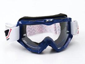 DAYTONA (デイトナ) バイク用 ゴーグル PRO-GRIP (プログリップ) 3201 レースラインゴーグル ブルー 90834