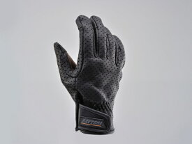 DAYTONA (デイトナ) バイク用 ライディンググローブ HBG-029 ゴートスキンパンチングメッシュグローブ(タッチパネル対応) スタンダードタイプ ブラック/ブラウン Lサイズ 95313