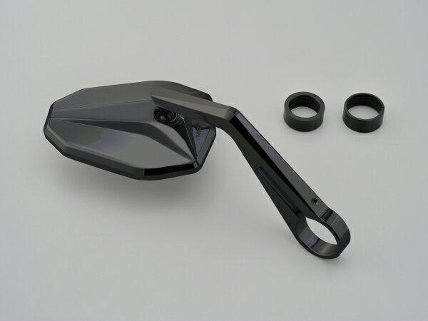 Daytona(デイトナ) HIGHSIDER バーエンドミラー ヴィクトリー/ブラック(別売バーエンドミラーアダプター必要) 96693