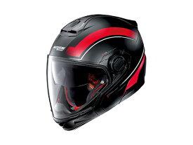 DAYTONA (デイトナ) バイク用 ヘルメット NOLAN ノーラン N405 GT リソリュート フラットブラック/レッド/21 Mサイズ (57~58cm) 16687