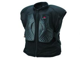 KIJIMA(キジマ) 4R(フォーアール) バイク用 胸部プロテクター ベスト Relieve ハード Mサイズ ブラック FR-133123