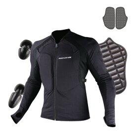 コミネ (Komine) バイク用 プロテクションインナーウェア Protection inner wear SK-625 アーマードトップインナーウエア ブラック 黒 Mサイズ 04-625/BK/M