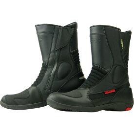 コミネ (Komine) バイク用 フットウェア シューズ ブーツ footwear Shoes Boots BK-070 GORE-TEX?ショートブーツ-グランデ ブラック 黒 24.5cm 05-070/24