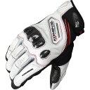 コミネ (Komine) バイク用 グローブ Gloves GK-167 カーボン プロテクトメッシュグローブ ホワイト 白 Mサイズ 06-167…