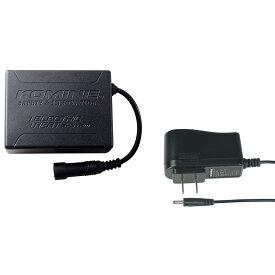 コミネ (Komine) バイク用 エレクトリック ヒートギア Electric heat gear 電熱 EK-210 7.4V エレクトリック ネックウォーマー セット ブラック 黒 フリーサイズ 08-210/BK