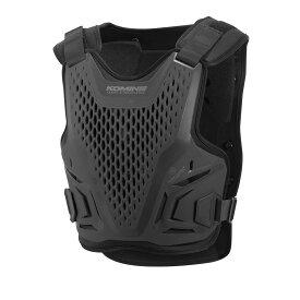 コミネ (Komine) バイク用 プロテクター Protector SK-828 エアスルーCE レベル2ボディアーマーフィット ブラック フリーサイズ 04-828/BK/F