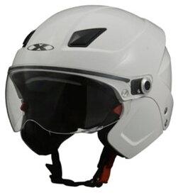 リード工業 システムヘルメット X-AIR SOLDAD ホワイト フリーサイズ (57-60cm未満)