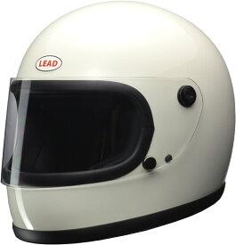 リード工業(LEAD) バイクヘルメット フルフェイス RX-200R ホワイト フリーサイズ (57-60cm未満)