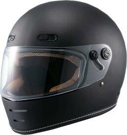 マルシン(MARUSHIN) バイクヘルメット ネオレトロ フルフェイス END MILL (エンド ミル) マットブラック XLサイズ MNF1 2001326