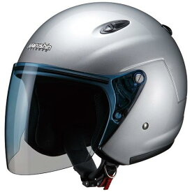 マルシン(Marushin) バイクヘルメット ジェット M-400XL シルバー XLサイズ (61~62cm)