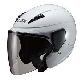 マルシン(Marushin) バイクヘルメット セミジェット M-520XL ホワイト XLサイズ (61~62cm)