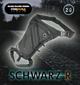 ROUGH&ROAD (ラフ&ロード) バイク用 ホルスターバッグ SCHWARZ R ホルスター シュバルツ 2L RR9554SWZ
