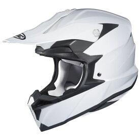 RSタイチ (RS TAICHI) バイク用 ヘルメット オフロード HJC i50 ソリッド WHITE Lサイズ HJH176WH01L