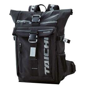 RSタイチ (RS TAICHI) バイク用 バッグ スポーツ WP バックパック ブラック 25L RSB274BK01