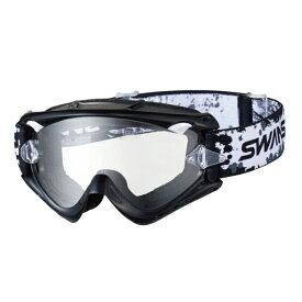 SWANS (スワンズ) バイク用 ゴーグル MX-RUSH-PET BK (MX ラッシュ ペット ブラック) ダートゴーグル 5008069037041