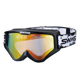 SWANS (スワンズ) バイク用 ゴーグル MX-797-M BK (ブラック) メガネ対応ダートゴーグル ミラータイプ 5007971612041