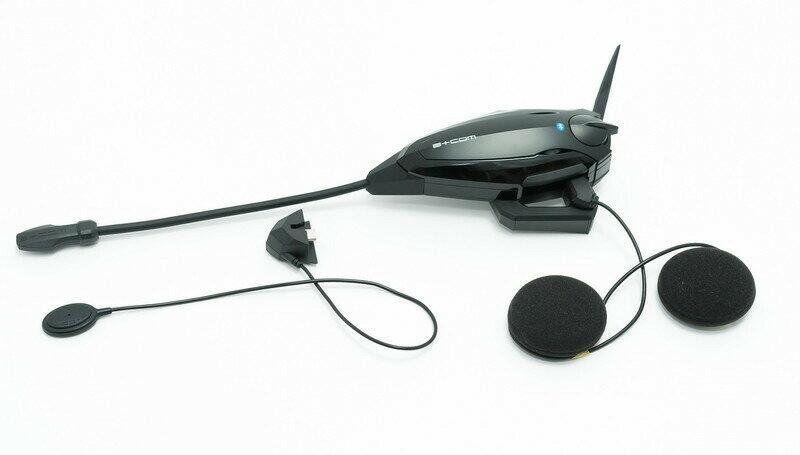 SYGN HOUSE (サインハウス) B+COM (ビーコム) バイク用 インカム Bluetooth ブルートゥース SB6X シングル 00080215