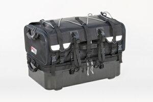 タナックス (TANAX) MOTOFIZZ モトフィズ グランドシートバック ブラック 容量70L(上部バック40L・下部バック30L) MFK-222