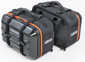 タナックス(TANAX) バイク用サイドバッグ MOTOFIZZ ツアーシェルケース2 アクティブオレンジ MFK-257