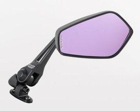 タナックス (TANAX) バイクミラー ナポレオン カウリングミラー7 ブラック 防眩鏡【RAYSAVE】 左右共通(ショートステータイプ) AEX7 (1本入り)