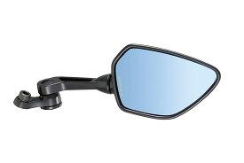 タナックス (TANAX) バイクミラー ナポレオン シャークミラー1B 【ブルー鏡】 右側用 10mm 正・逆ネジボルト付 AOS-104-10BR (1本入り)