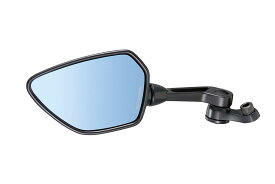 タナックス (TANAX) バイクミラー ナポレオン シャークミラー1B 【ブルー鏡】 左側用 10mm 正・逆ネジボルト付 AOS-104-10BL (1本入り)