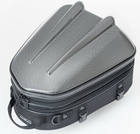 タナックス (TANAX) MOTOFIZZ バイクシートバック シェルシートバックMT/カーボン柄 [容量10-14L] MFK-238CA