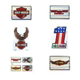 HARLEY-DAVIDSON ハーレーダビッドソン 1980-90年代 ビンテージ デッドストック ホログラムステッカー デカール 6枚セット