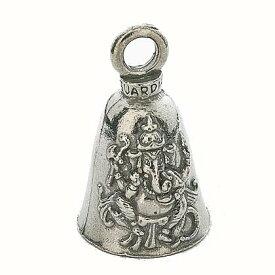 土日祝も営業!米国製【送料無料!】ガーディアンベル (Ganesh Bell)ガネーシャ  【お守り・魔除け・バイカー GUARDIAN BELL】
