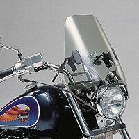 デイトナ34924ウインドシールドライトスモークミドルサイズ(W375×H425mm)汎用ハーレー