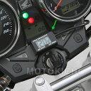 【あす楽対応】 デイトナ 92386 防水コンパクトボルトメーター DC12V (動作範囲:7.5〜18V) デジタル電圧計