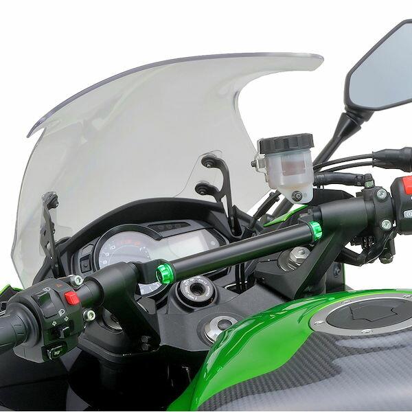 デイトナ DAYTONA 95378 マルチバーホルダー Ninja1000('11〜'15) M8 ライムグリーン付属