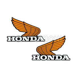 HONDA純正 ホンダ 0SYWG-C9L-Y14 CLASSICS オールドウイングステッカー14 イエロー 14