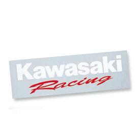 【あす楽対応】KAWASAKI純正 J7010-0075 カワサキ レーシング ステッカー(抜き文字)