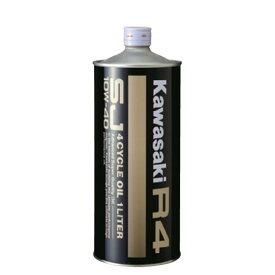 【あす楽対応】 (KAWASAKI純正) J0148-0001 カワサキR4 エンジンオイル SJ10W-40 1リットル缶