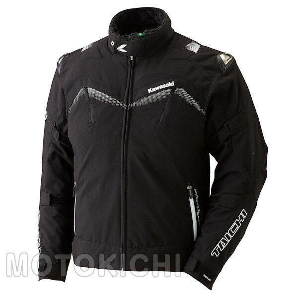 カワサキ アームドオールシーズンジャケット ブラック J8001-2732 J8001-2733 J8001-2734 J8001-2735 M〜3Lサイズ Kawasaki×タイチ