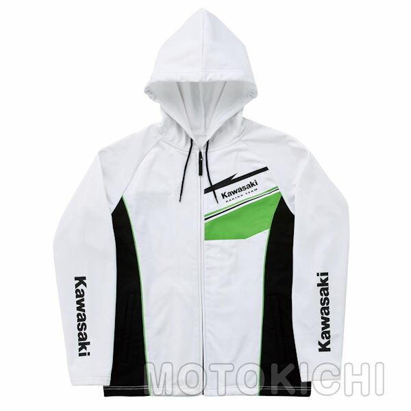KAWASAKI純正 カワサキ サーキットフードジャケット ホワイト J8016-0286 J8016-0287 J8016-0288 J8016-0289