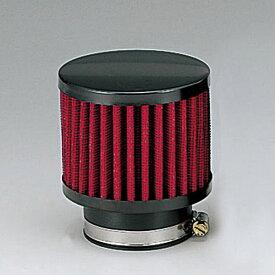 キジマ (KIJIMA) 102-061R パワーフィルター レッド ショート ヤマハ TW200 TW225/セロー SR400